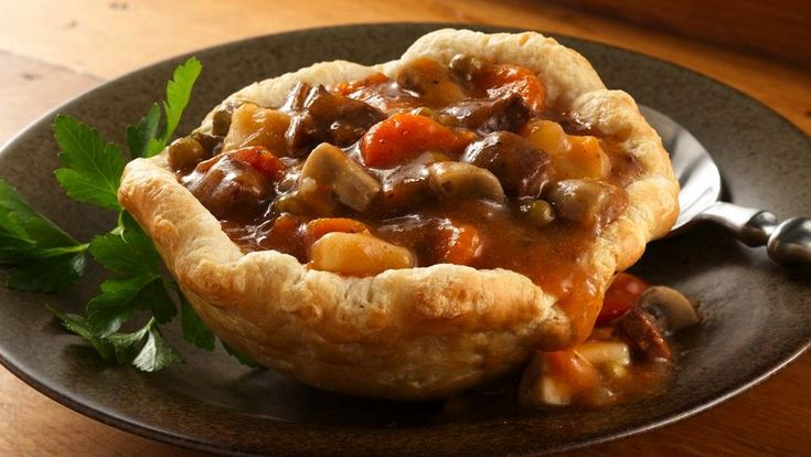 Beef Stew in Biscuit Cups | Recipe