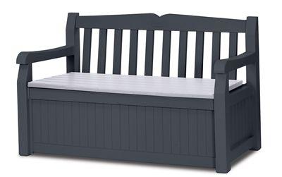 Keter Deck Box 236559 70-gal Eden Resin Storage Bench – Products