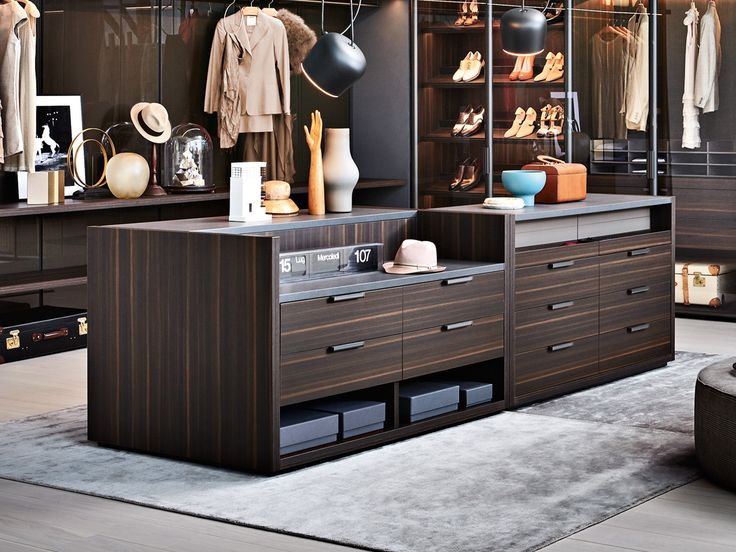 Gliss Master Island Is A Central Island Unit, A Free Standing Element That  Completes The Wardrobe Area Of A Walk In Closet Or A Closet Area.