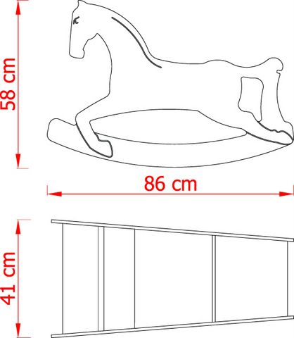 3in1 Rocking Horse   KATTUSKA
