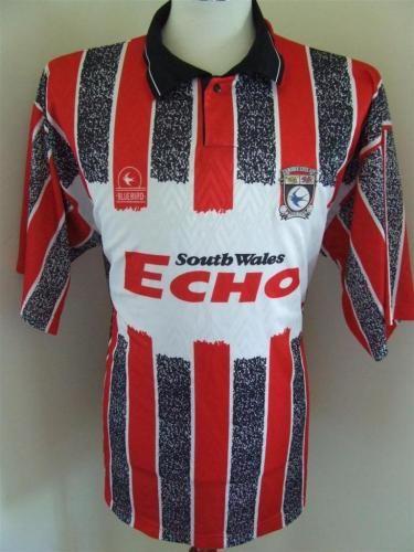 Cardiff City Away football shirt 1993 - 1994