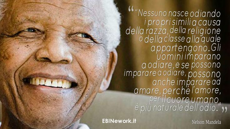 Oggi è il Mandela Day! Ricordiamo questo UOMO che ha fatto tanto per l'intera Umanità! #mandeladay #nelsonmandela #mandela #dirittiumani