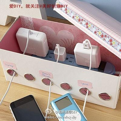 una caja de zapatos, papeles bonitos, ojalillos y listo!