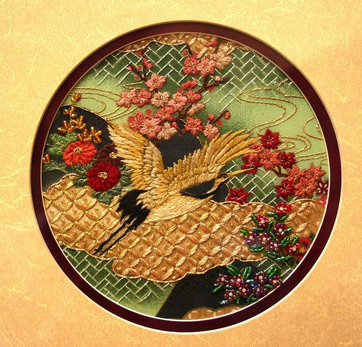 Best japanese embroidery images on pinterest