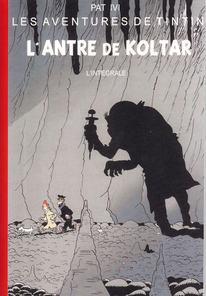 HOMMAGE A HERGE TINTIN : L ANTRE DE KOLTAR INTEGRALE TTBE