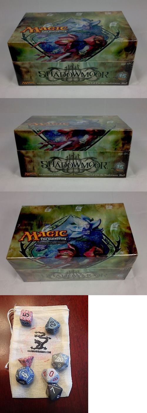 MTG Sealed Booster Packs 19109: Magic: The Gathering Mtg Shadowmoor Tournament Pack Box 12 Decks = 36 Boosters -> BUY IT NOW ONLY: $415.54 on eBay!