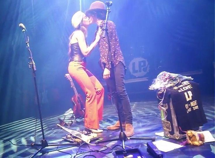 Lauren and LP. LOVE!