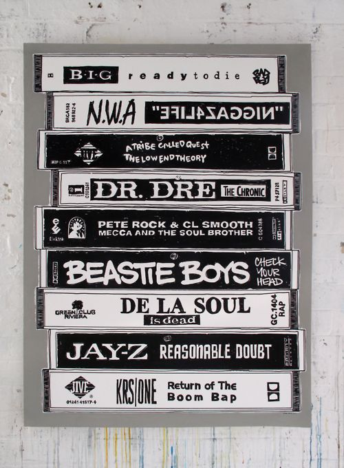 N.W.A, DR DRE, SNOOP, BIG, BEASTY BOYS. . . . . . . .