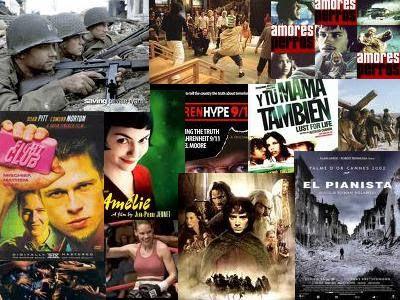 Películas de nuestras tertulias de cine.