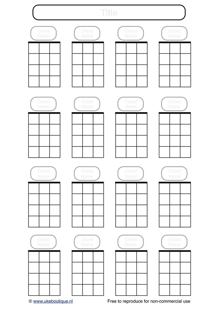 25 best images about Music – Banjo Chord Chart Template