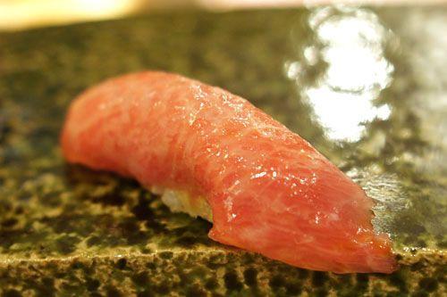 Toro / Tuna Belly - nigiri sushi
