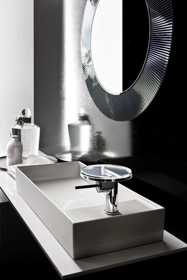 lines laufen laufen bathrooms design. Kartell And Laufen | Bathroom - Love The Clean Lines Structure With Circular Mirror Bathrooms Design