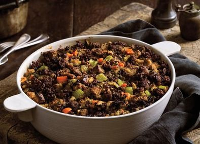It's traditional stuffing for a reason!