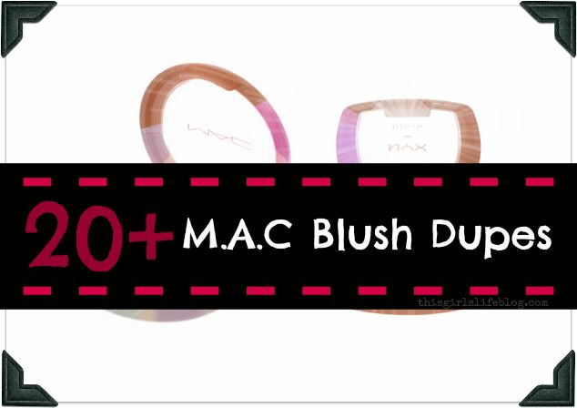 20+ MAC Blush Dupes