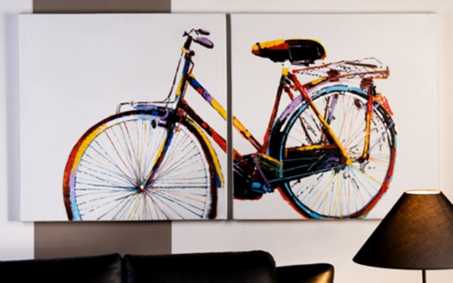 Oil painting CYCLE $355