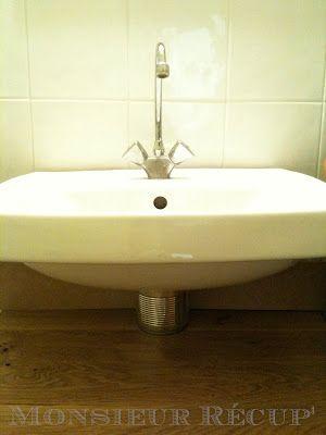 Sall - Cache tuyau salle de bain ...
