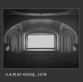 Hiroshi Sugimoto takes super symmetrical photos of movie theaters. And, his exposures run through the entire movie.
