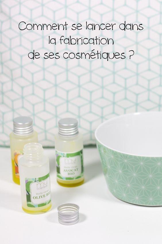 Comment se lancer dans la fabrication de ses cosmétiques ?