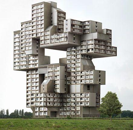 dujardin.jpg: Filip Dujardin, Filipdujardin, Building, Take Pictures, Modern Architecture, Unusual Houses, Weird Houses, Design, Lego