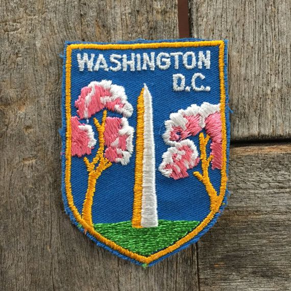 Washington Monument Washington DC Vintage by HeydayRoadTrip