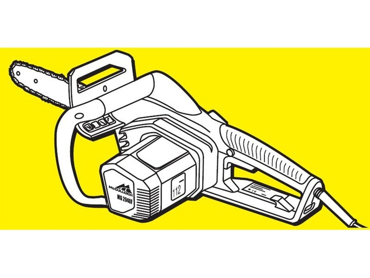 McCulloch 2000W Electric Chainsaw $189 *Prices subject to change