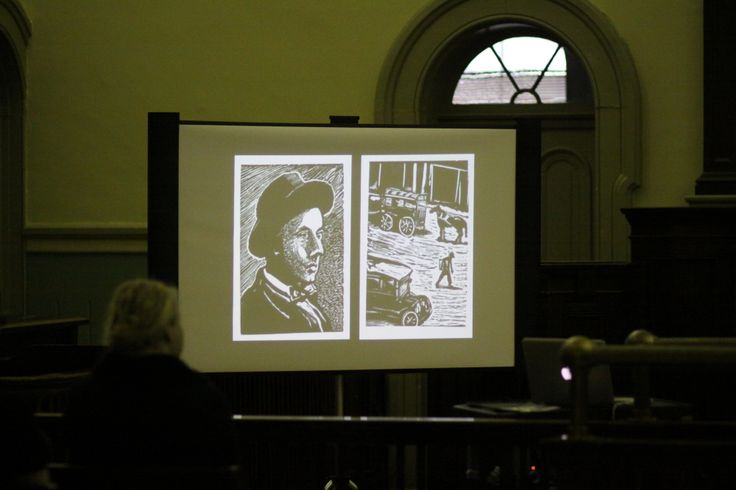 Images from the book and exhibition were made available for the spectators' scrutiny. Photo courtesy of PAMA.