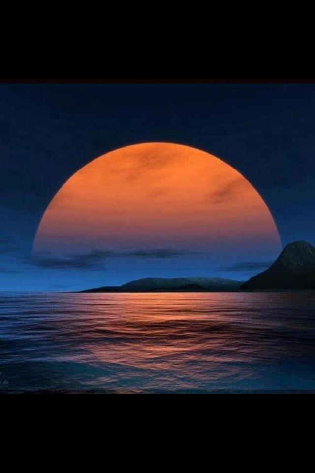 Orange moon   Saffron!   Pinterest