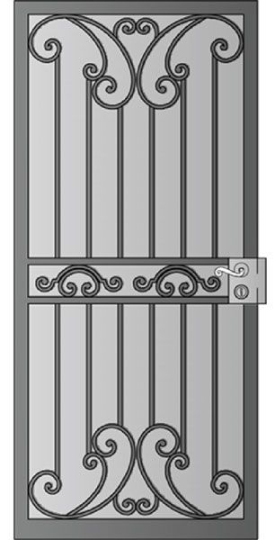 257 best fer forge images on Pinterest Iron doors, Wrought iron - porte d entree tarif