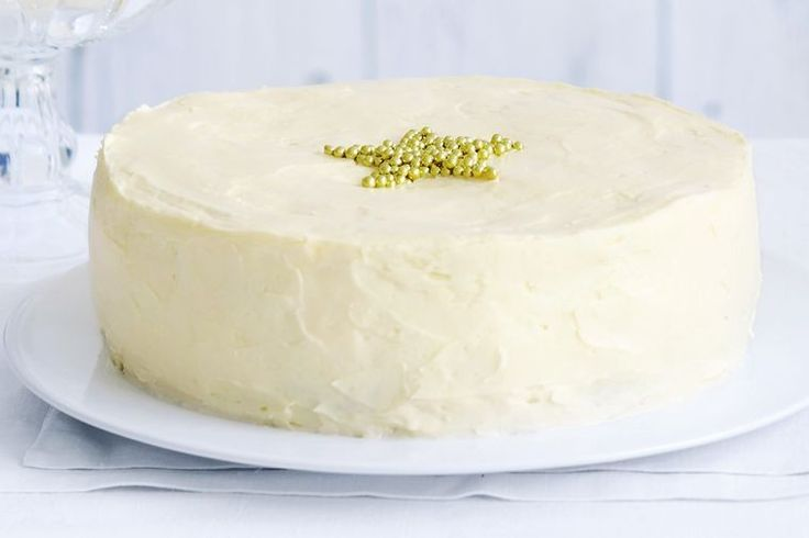 This light and fluffy white chocolate cake with rich buttercream icing is the perfect cake for any celebration.