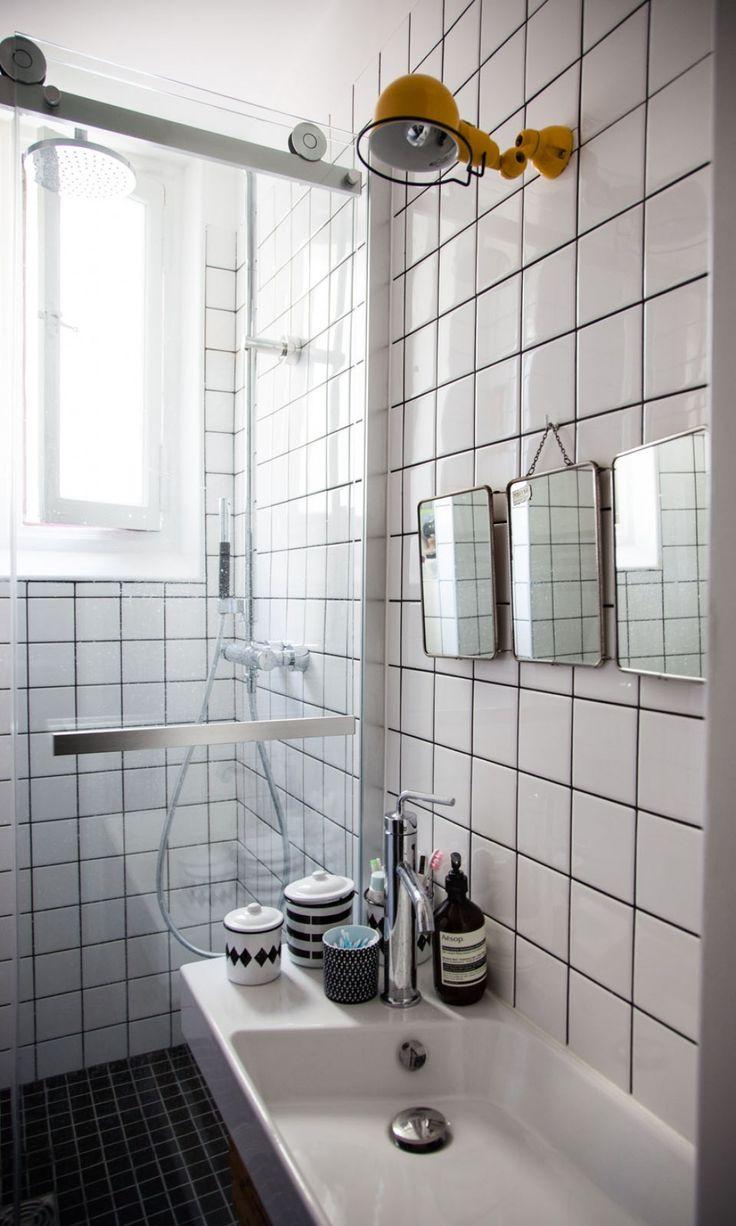 Idée pour plus tard: mini salle de douche lavabo