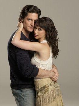 Ghost Wisperer ~ Jennifer Love Hewitt as Melinda Gordon ~  David Conrad as Jim Clancy