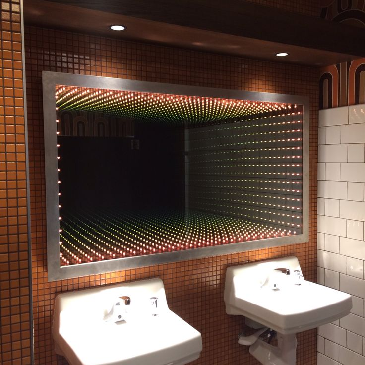 Infinity mirror designed and fabricated by Industrial Luxury.
