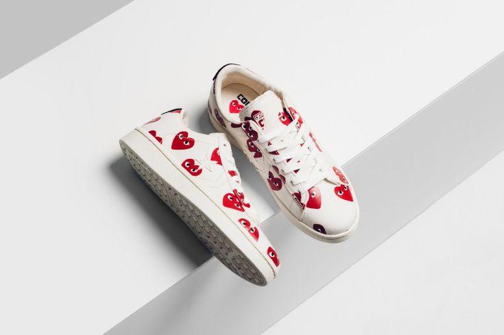 Sneakers femme - Converse x Comme des garçons