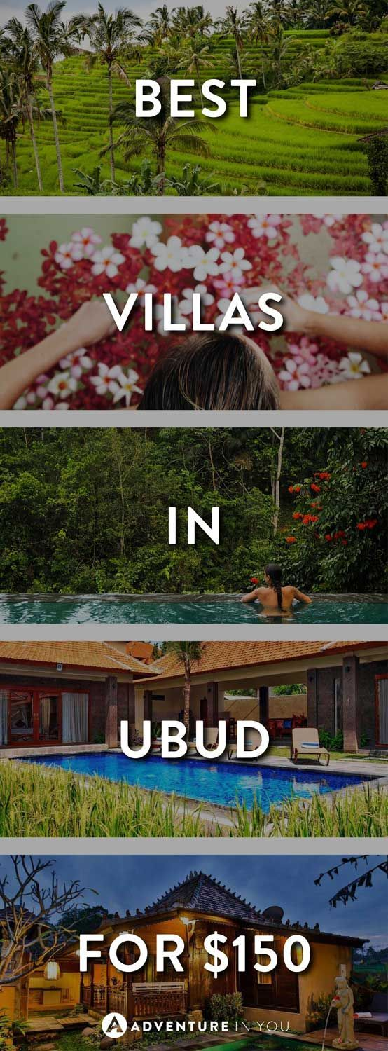 Ubud Bali   Looking for villas in Ubud, Bali? Our where to stay guide in Ubud will give you our top tips on the best places to stay in Ubud that won't break the bank.