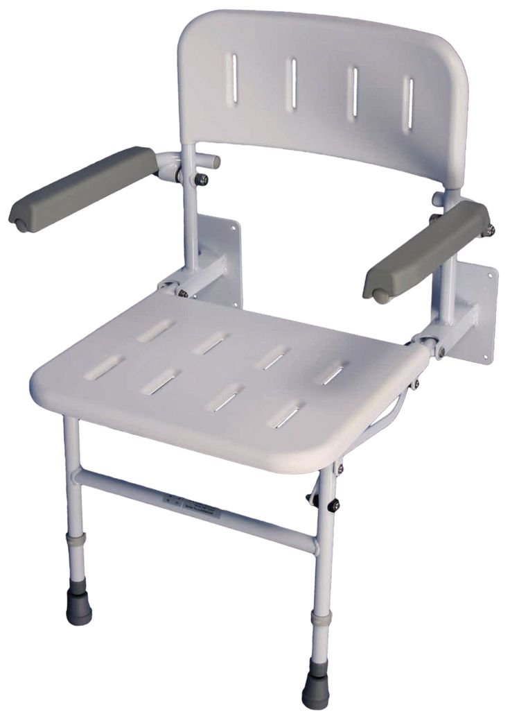 The Solo Deluxe Shower Seat with Arms is height adjustable and the legs have fine adjustments to compensate for any variations in the shower tray. The integrated arms lift independently enabling safe and controlled transfer. The seat and back are detachable and have drainage holes, which conform with MHRA standards. Optionally available with padded arms, back and seat