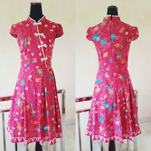 Cheongsam batik dress. Ready for imlek? ?