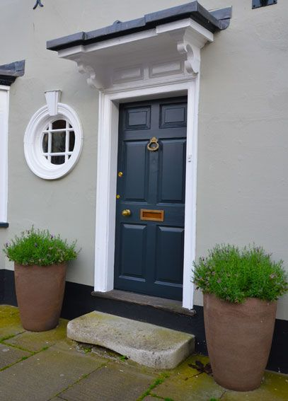 15 best images about hall street house colours on pinterest dulux natural white exterior - Exterior door paint color ideas property ...