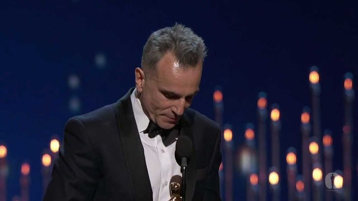 """(Click to watch) Daniel Day-Lewis winning Best Actor for """"Lincoln""""  I wanted him to win so badly... my t.v stopped recording the Oscars right before it showed who won Best Actor. I had to run to the computer and look it up but when I saw it was him I literally jumped for joy :)"""
