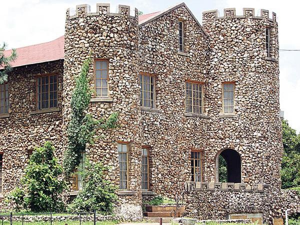 Castle of Tahlequah built between 1929 and 1934.
