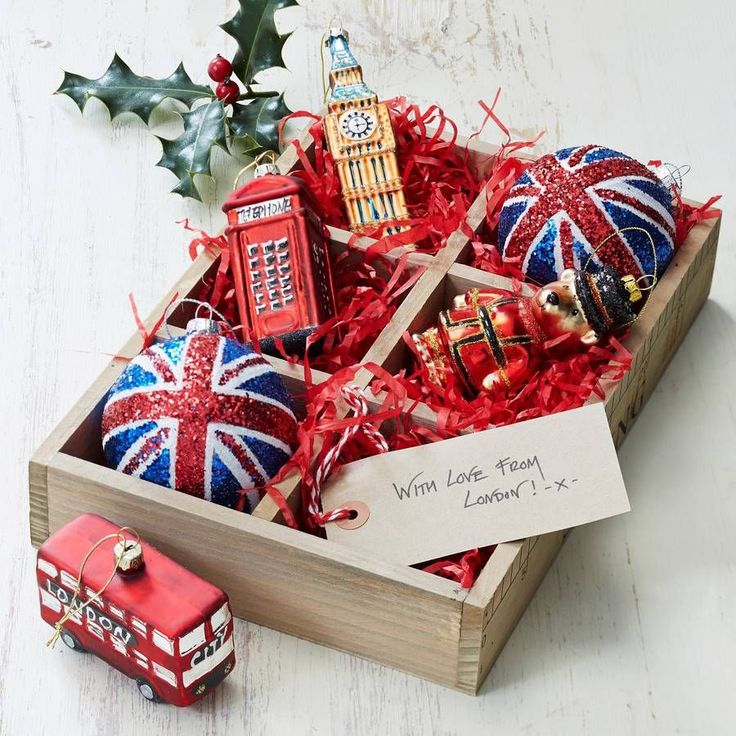 great british christmas tree decorations by the christmas home | notonthehighstreet.com
