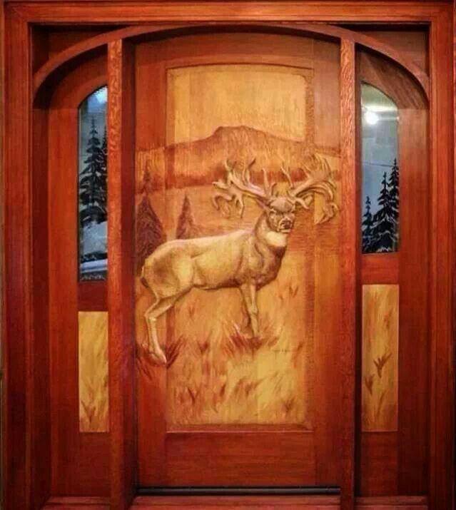 Cool front door front doors pinterest for Cool front doors