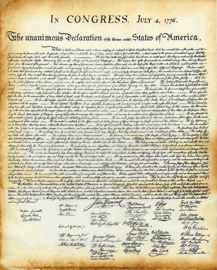 Onafhankelijkheidsverklaring