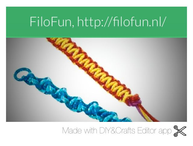 A web page with lots of crafts in (my latest discovery in the crafty-sphere) FiloFun!  http://filofun.nl