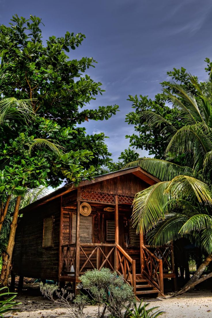 Another perfect beach shack tropical
