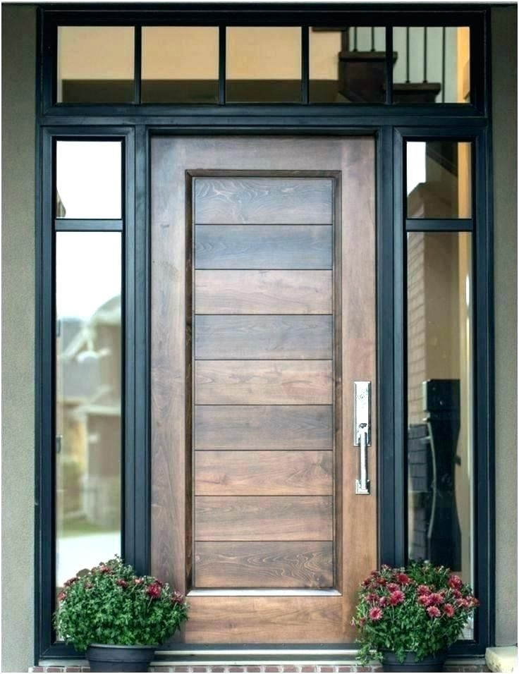 Google Image Result For Http Haveandtohold Co Wp Content Uploads 2019 06 Hardwood Front Doors With Wood Exterior Door Installing Exterior Door Exterior Doors