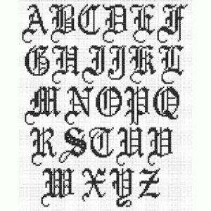 17 Best Images About Filet Crochet Alphabet On Pinterest