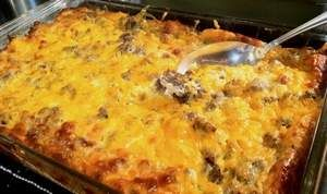 """Miss Tennessee 1999 Allison Alderson DeMarcus' Breakfast Casserole. """"This is my mom's recipe that we cook every Christmas morning."""" (pg 3) : jacksonsun - Miss Tennessee favorite recipes"""