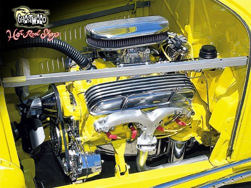 327ci small block built by ghostwood hot rods engines for Too hot motors tucson