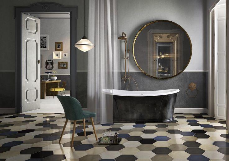 divatos fürdőszoba