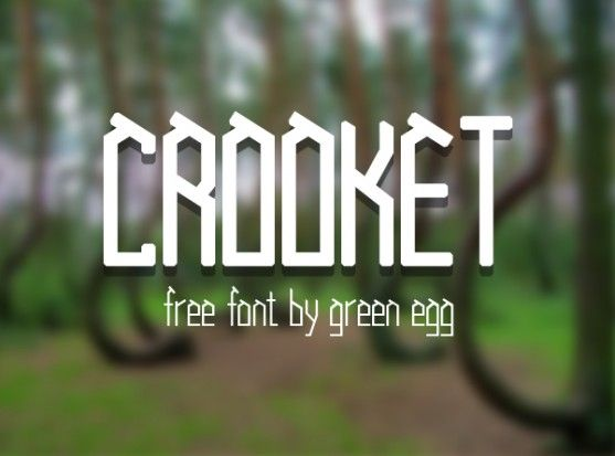 Crooked 2 font